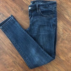 Mossimo M/W Super Stretch Low Rise Skinny Jeans 0